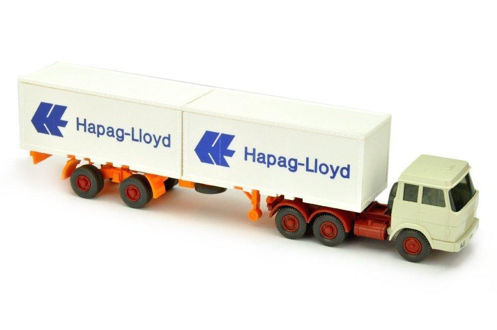 Hapag-Lloyd/7OO - Hanomag, perlweiss
