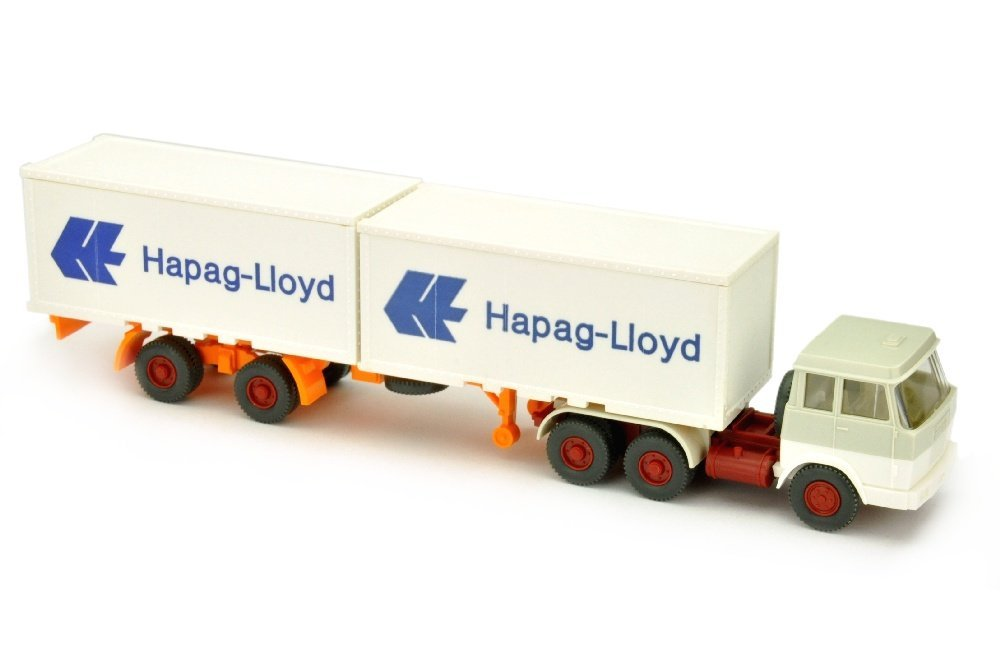 Hapag-Lloyd/7PM - Hanomag, grauweiss/weiss