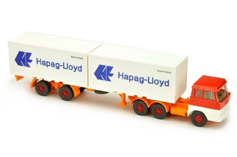 Hapag-Lloyd/7 - Hanomag, rot/weiss