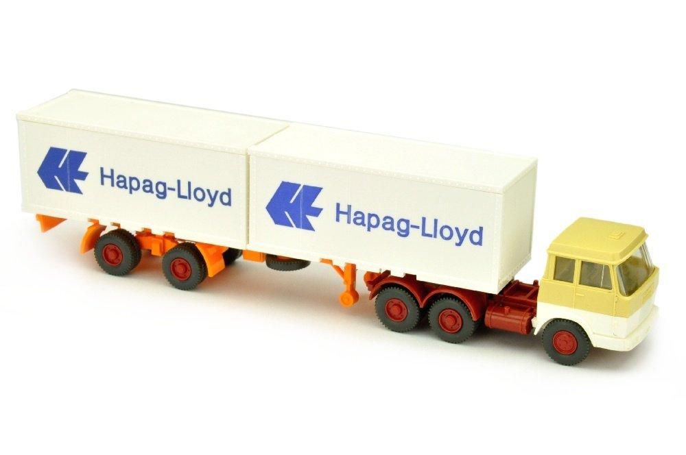 Hapag-Lloyd/7 - Hanomag, hellbeige/weiss