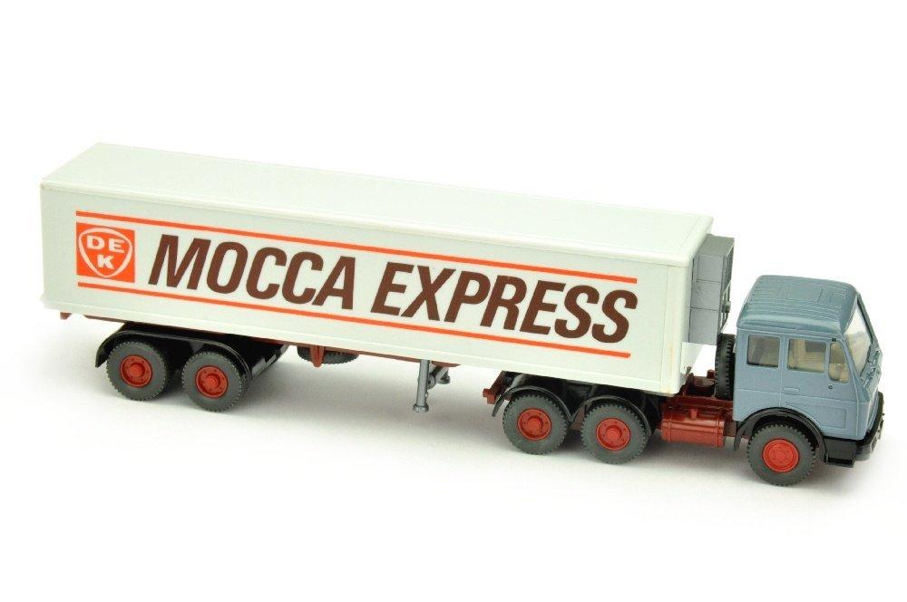 DEK Mocca Express - Koffer-Sattelzug MB 2632