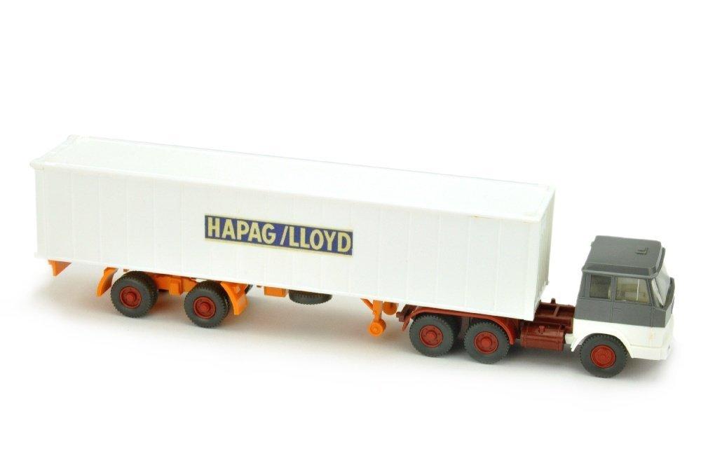 Hapag-Lloyd - Container-SZ Hanomag-Henschel