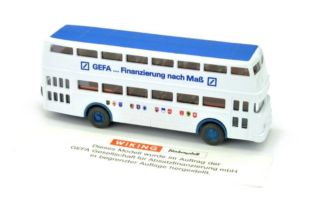 Gefa - Buessing D2U Doppeldecker