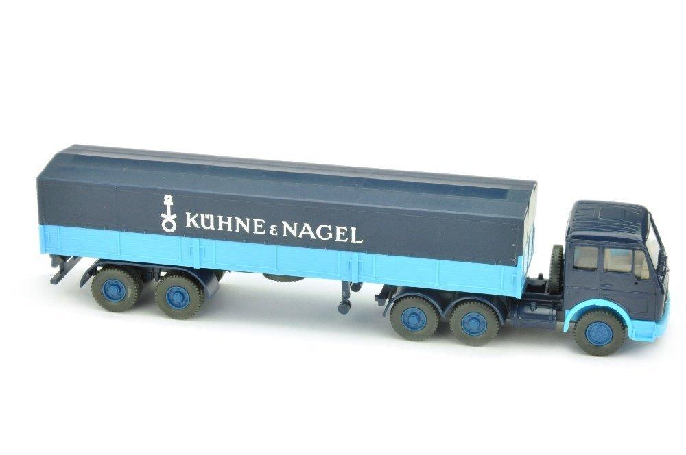 Pritschen-Sattelzug MB 2632 Kuehne & Nagel