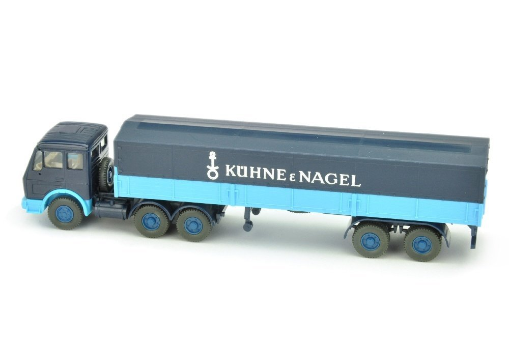 Pritschen-Sattelzug MB 2632 Kuehne & Nagel - 2