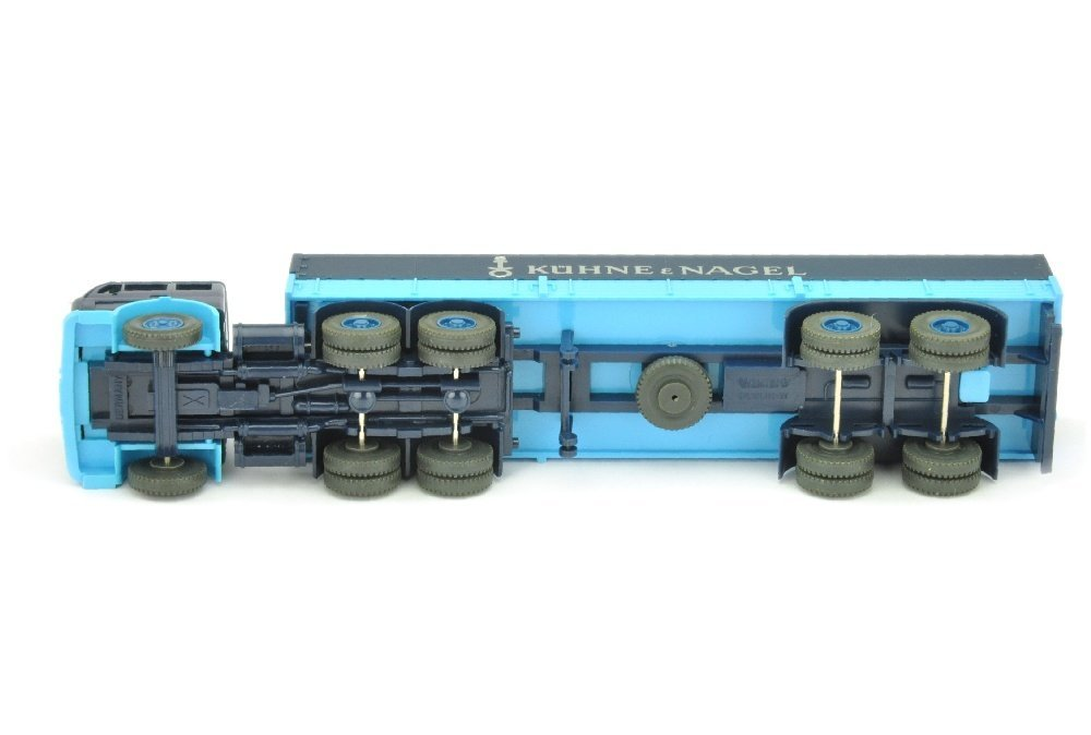 Pritschen-Sattelzug MB 2632 Kuehne & Nagel - 3