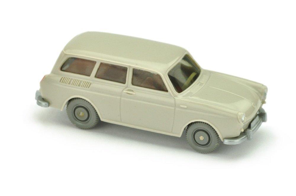 VW 1500 Variant, d'-achatgrau (mit Einrichtung)