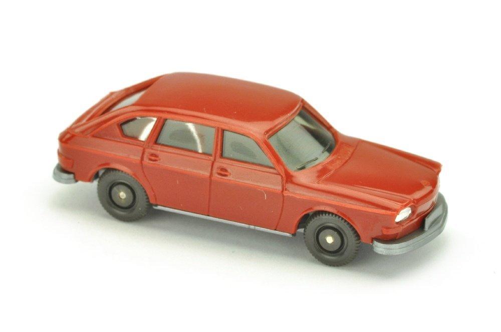 VW 411, weinrot (Scheinwerfer einteilig)