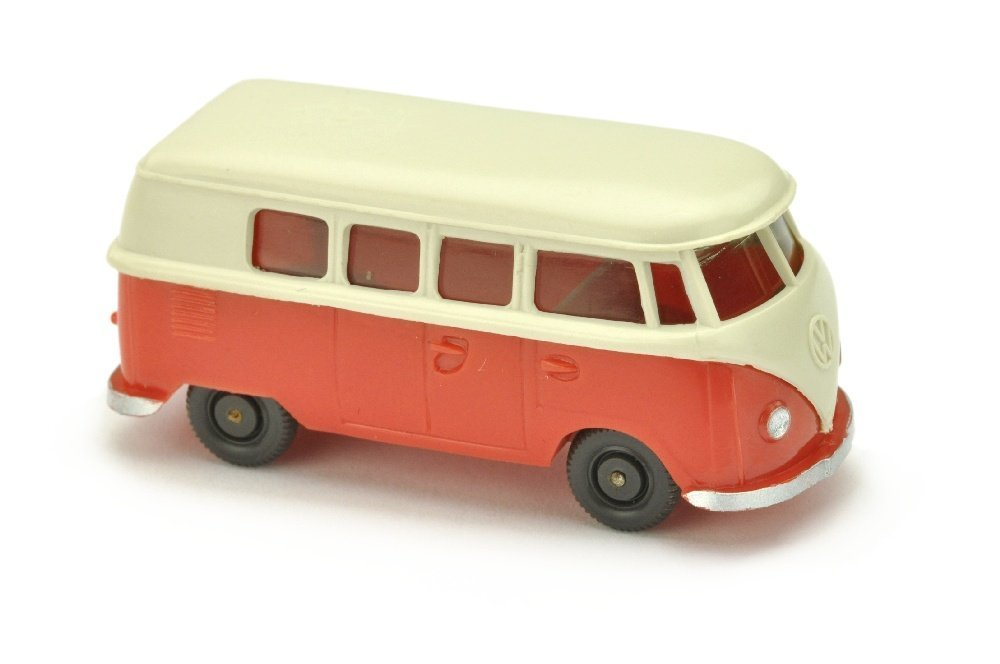 VW T1 Bus (alt), perlweiss/rose