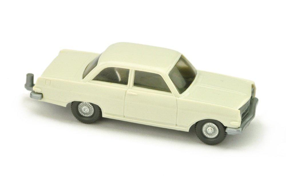 Opel Rekord A, grauweiss