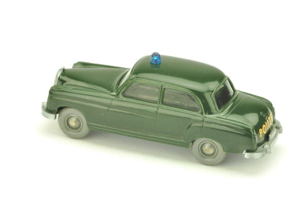 Polizeiwagen Mercedes 220, tannengruen - 2