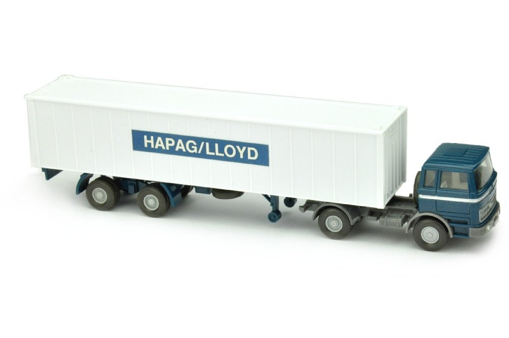 Container-Sattelzug MB 1620 Hapag-Lloyd (breit)
