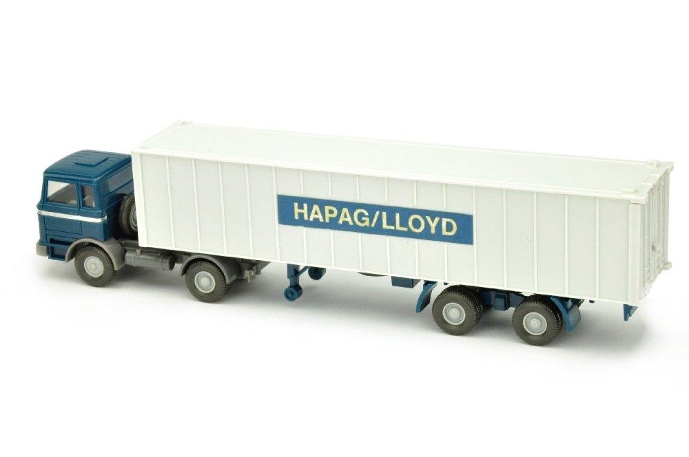 Container-Sattelzug MB 1620 Hapag-Lloyd (breit) - 2