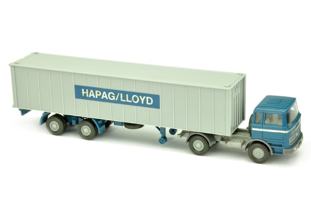 Container-Sattelzug MB 1620 Hapag-Lloyd (breit)