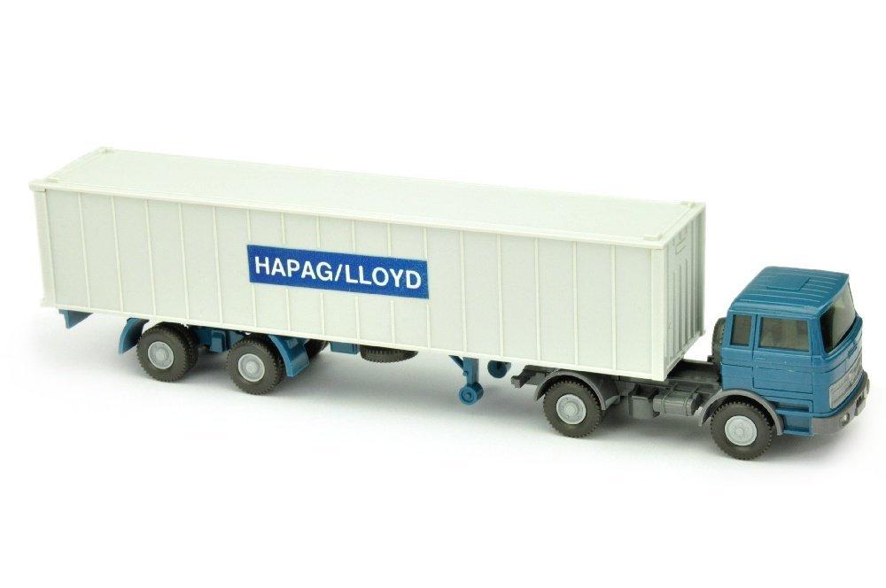 Container-Sattelzug MB 1620 Hapag-Lloyd (schmal)