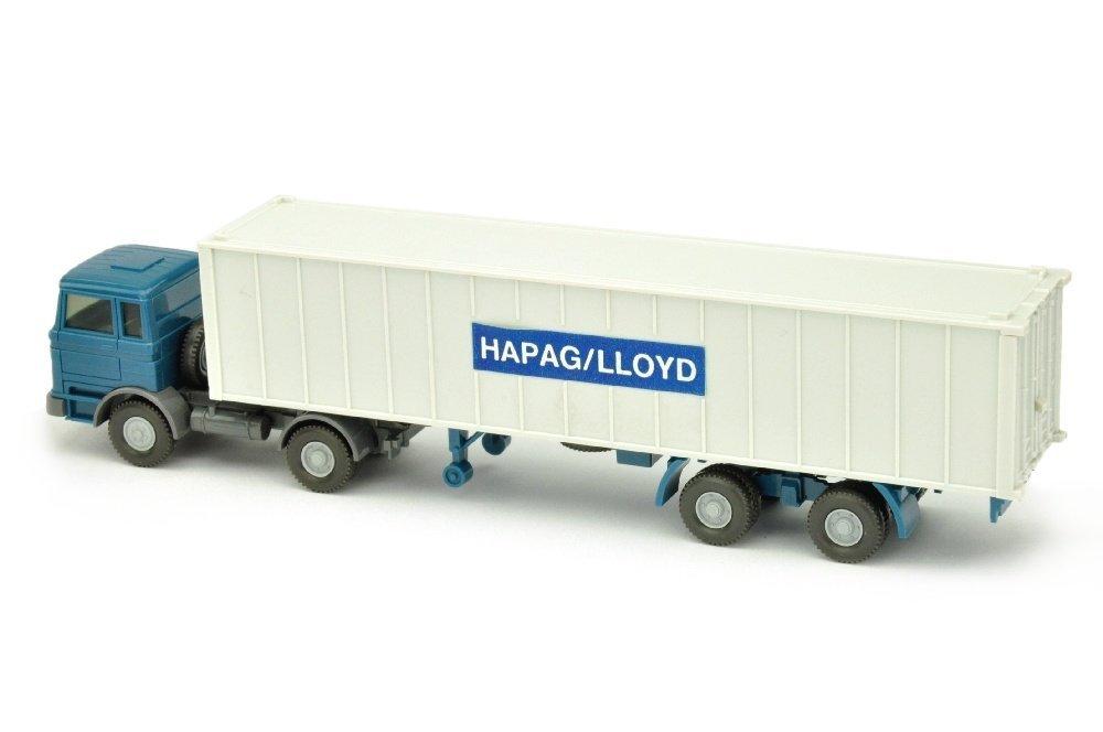Container-Sattelzug MB 1620 Hapag-Lloyd (schmal) - 2