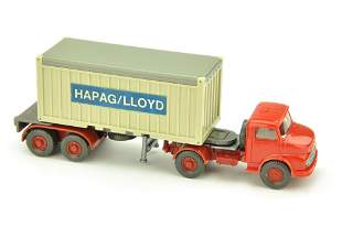 Container-LKW MB 1413 Hapag-Lloyd