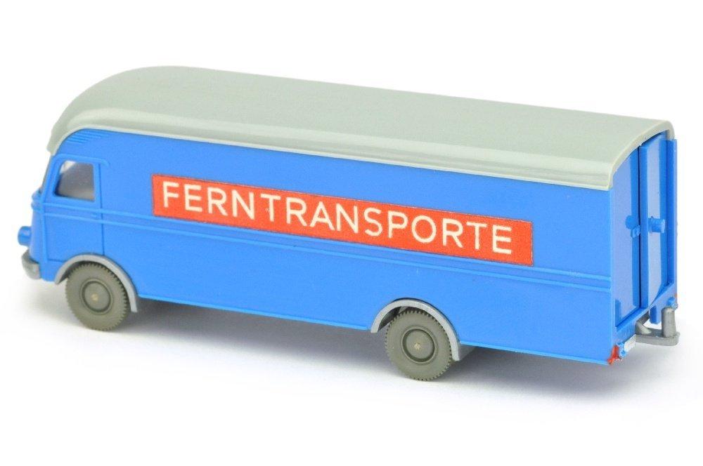 MB 312 Ferntransporte, himmelblau - 2