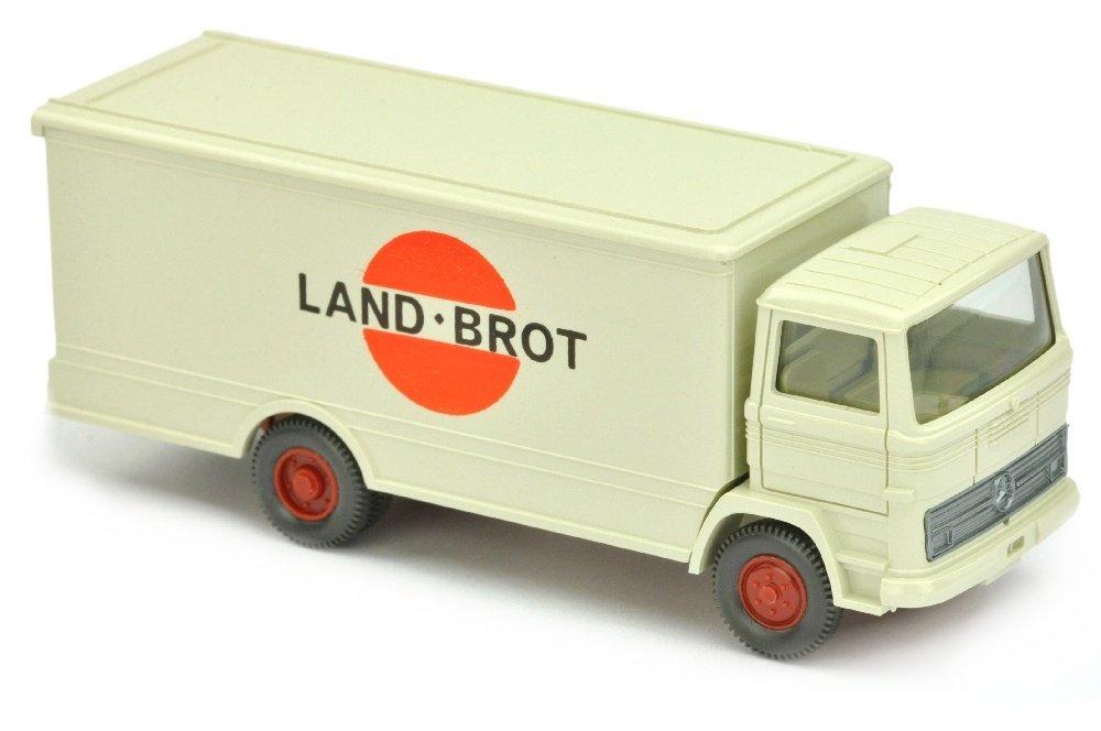 Koffer-LKW MB 1317 Landbrot, perlweiss