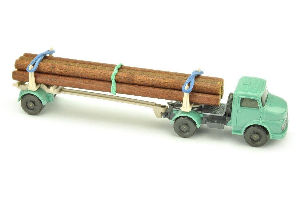 MB 1413 Langholztransporter, tuerkis