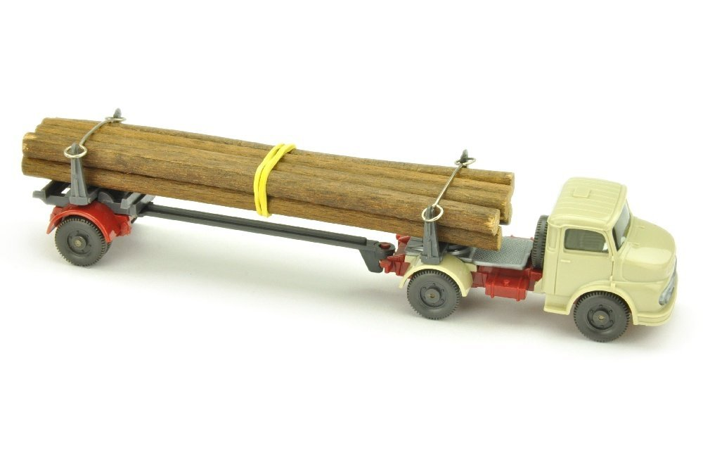 MB 1413 Langholztransporter, hellgelbgrau