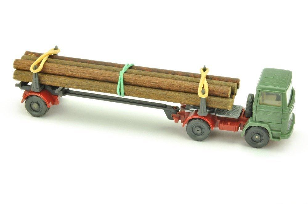 MB 1317 Langholztransporter, dunkelresedagruen