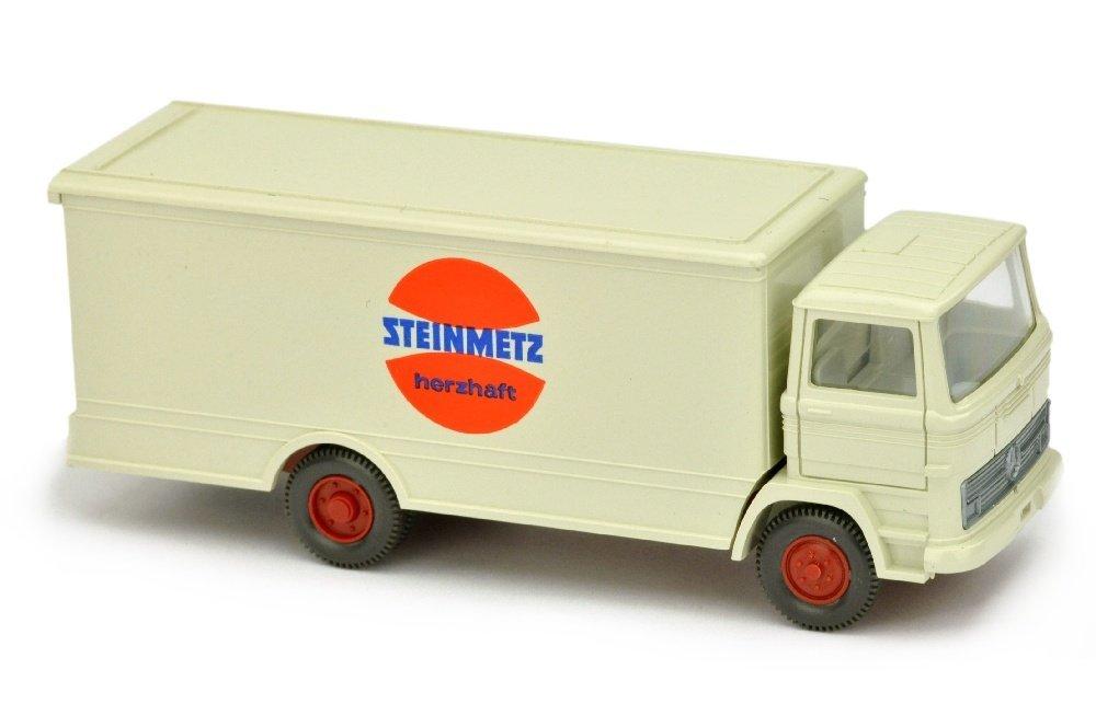 Koffer-LKW MB 1317 Steinmetz, perlweiss