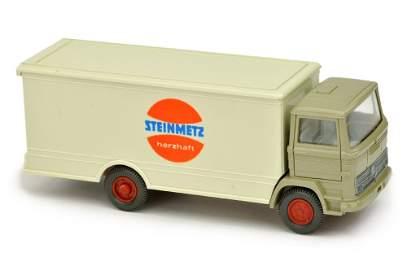 Koffer-LKW MB 1317 Steinmetz, olivgrau