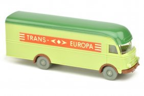 Moebelwagen Mb 312 Trans Europa, Lindgruen