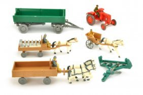 Siku - Konvolut 6 Landwirtschaftsmodelle