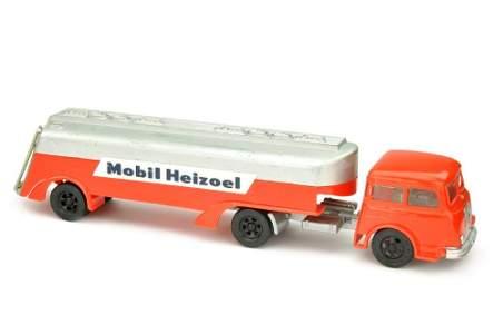 SIKU - Werbemodell Mobil Heizoel Tankwagen