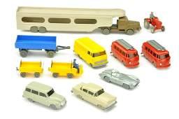 Konvolut 11 Modelle der 50er60er Jahre
