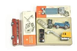 Konvolut 61 Modelle der 50er60er Jahre