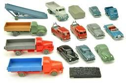 Konvolut 14 Modelle der 50er60er Jahre