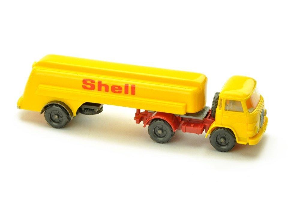 Shell-Tanksattelzug MAN 415 (Abziehbild)