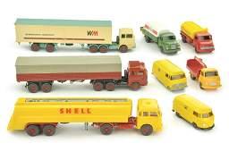 Konvolut 8 Modelle der 60er70er Jahre