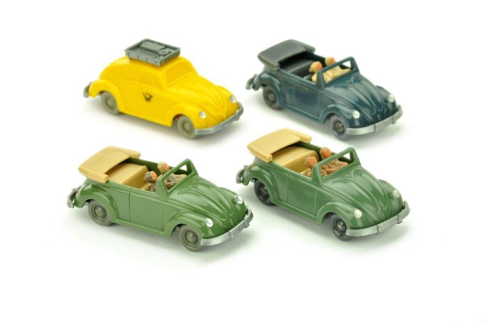 Konvolut 4 unverglaste VW Kaefer