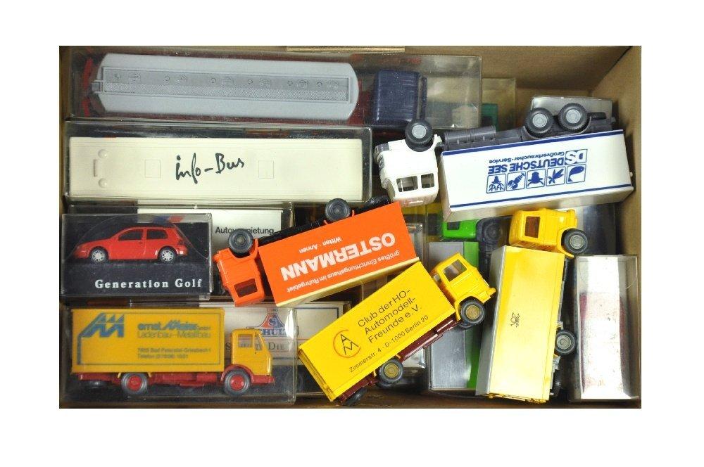 Konvolut 20 Modelle der 70er/90er Jahre