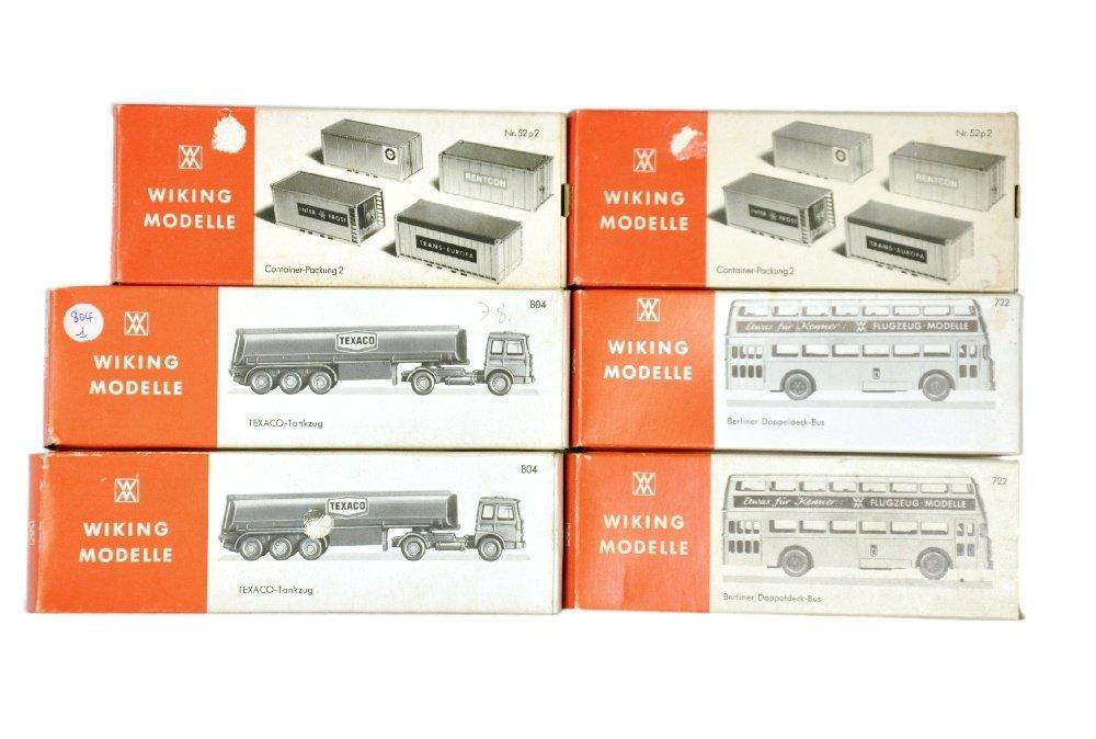 Konvolut 6 Modelle der 70er Jahre (im Ork)