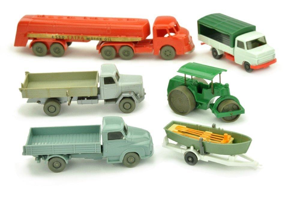 Konvolut 6 Modelle der 50er/60er Jahre