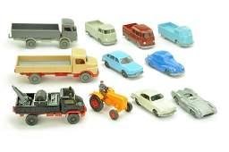 Konvolut 11 Modelle der 50er70er Jahre