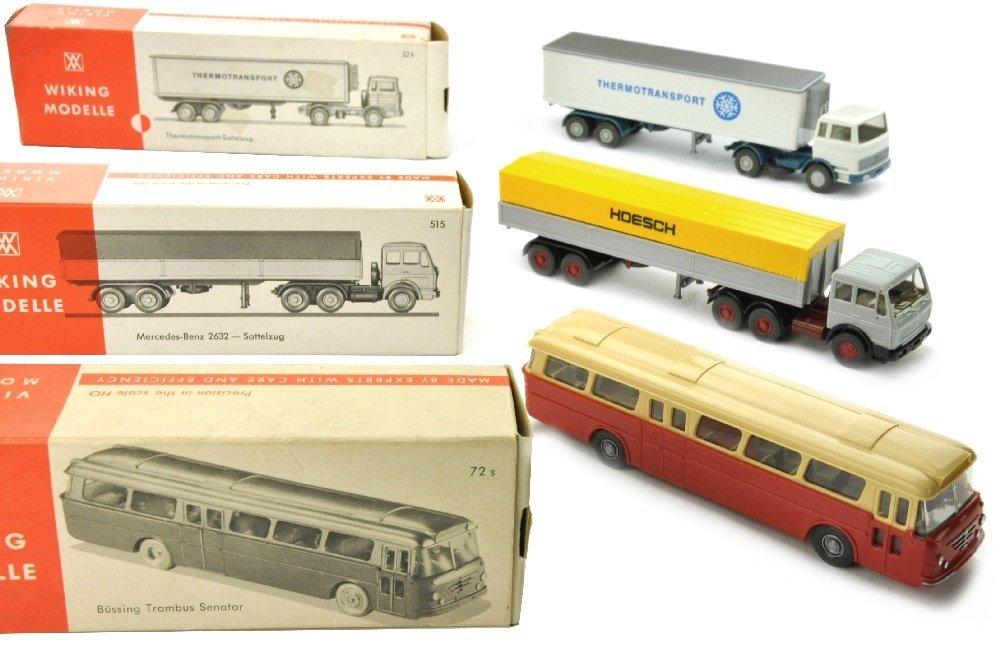 Konvolut 3 Modelle der 70er Jahre (im Ork)