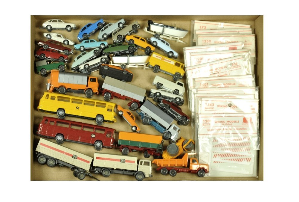 Konvolut 31+11 Modelle der 70er Jahre
