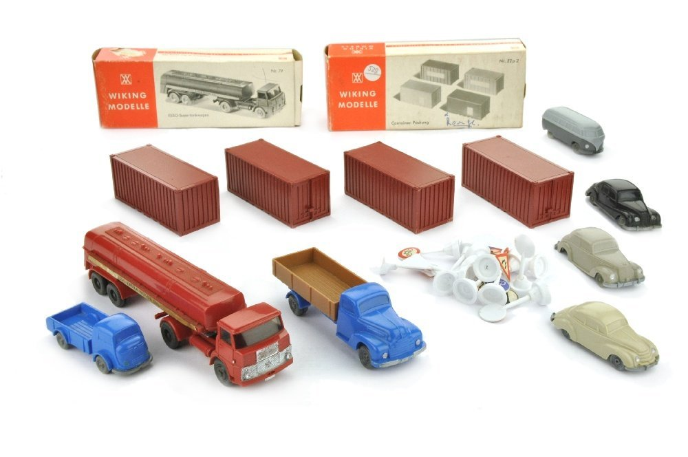 Konvolut 8+14 Modelle der 50er/70er Jahre