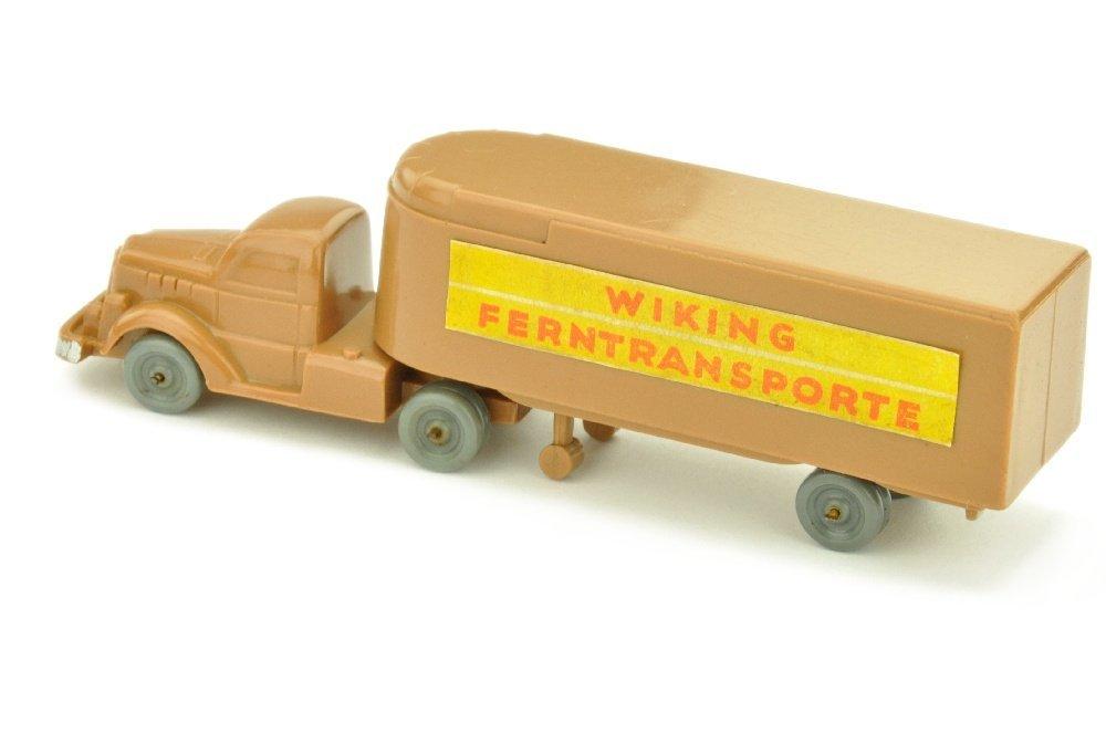 Sattelzug White Ferntransporte, ockerbraun - 2