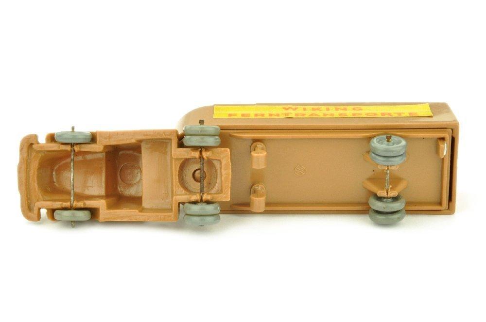 Sattelzug White Ferntransporte, ockerbraun - 3