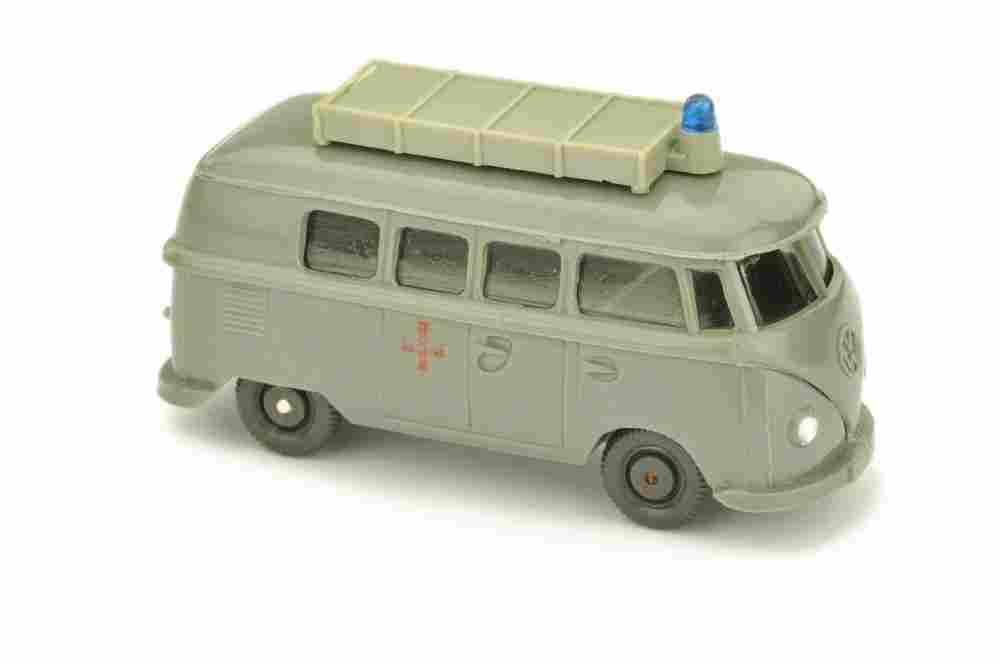 VW T1 Rotkreuz mit Aufbau (alt), betongrau
