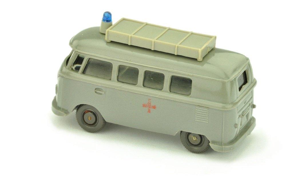 VW T1 Rotkreuz mit Aufbau (alt), betongrau - 2