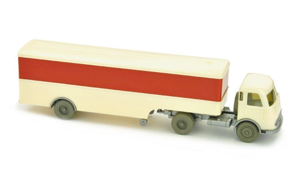 Koffer-Sattelzug Pullman unbeschriftet