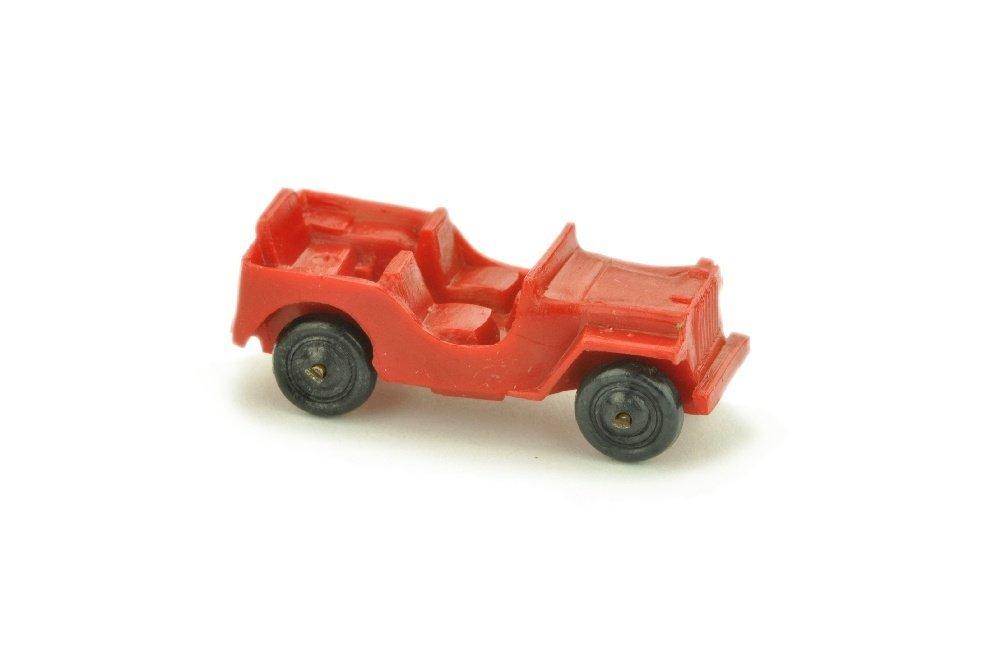 Jeep (Typ 2), rot (Raeder schwarz)